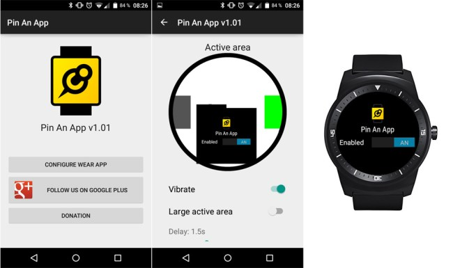 LG G Watch R Pin A App