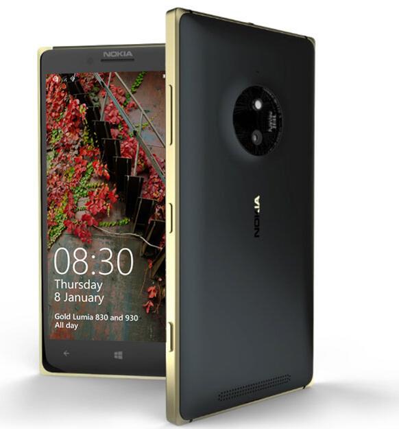 Lumia 830 Gold