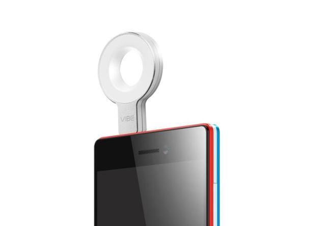 Selfie Flash mit Smartphone