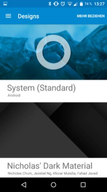 Xperia Z3 Compact CyanogenMod CM12 Nightly 2015-01-26 12.27.47