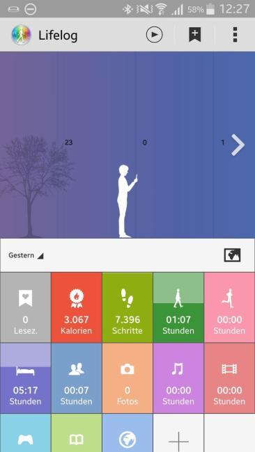 lifelog app overview