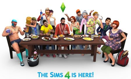 sims 4 is here