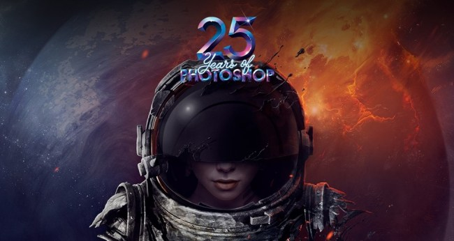 Adobe Photoshop 25 Jahre