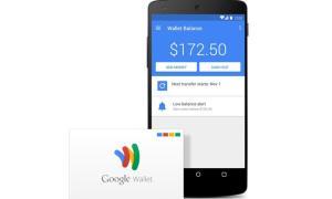 Google Wallet Header