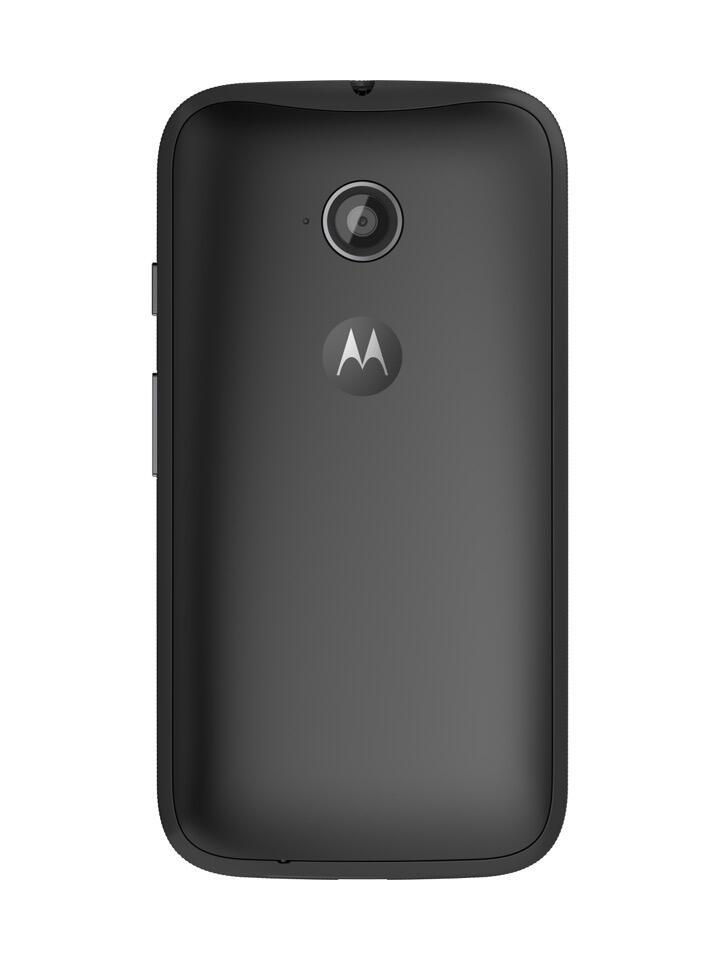 Moto E (2nd Gen.) Back - Black