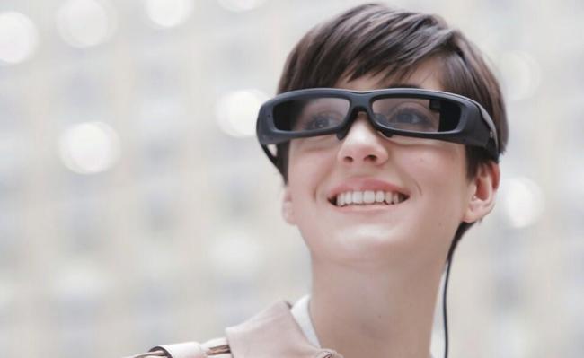 Sony SmartEyeglass Header
