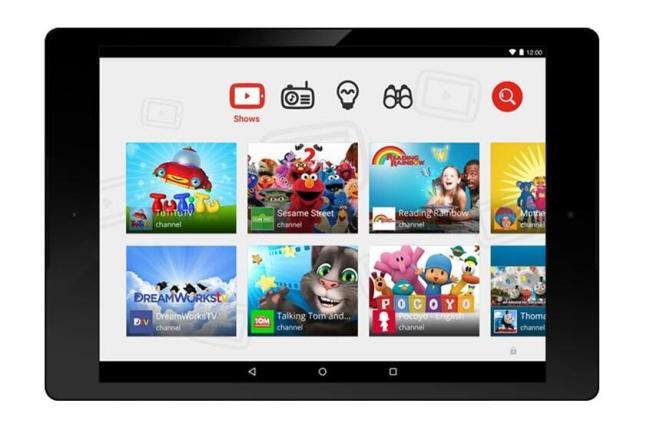 YouTube Kids Tablet