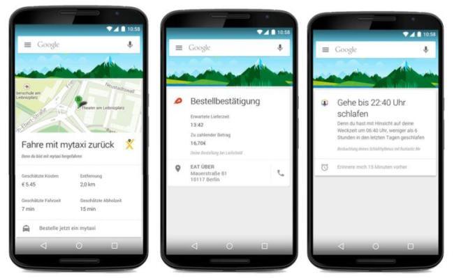 now externe apps deutsch