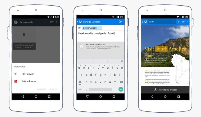 Dropbox Android PDF
