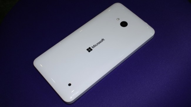 Microsoft Lumia 640 back