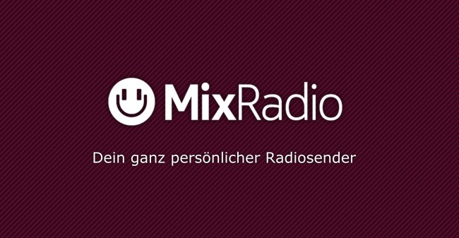 MixRadio Logo Header