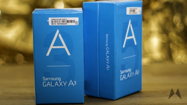 Samsung Galaxy A3 und Samsung Galaxy A5 003