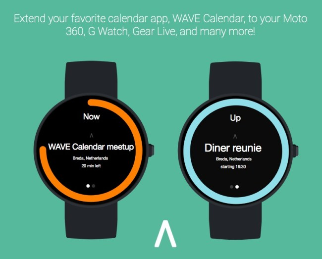 Wace Calendar Android Wear