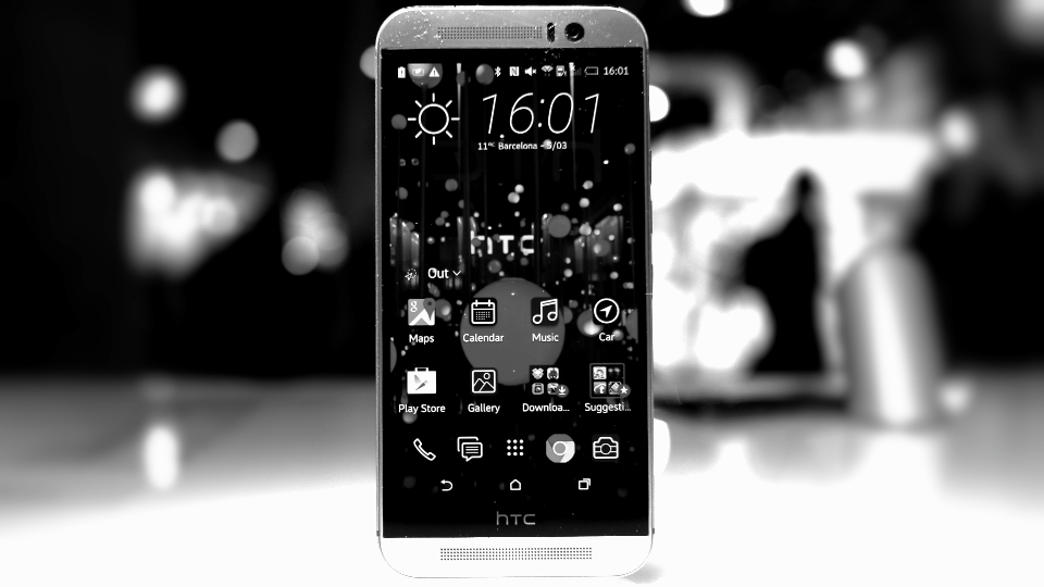 htc one m9 header bw