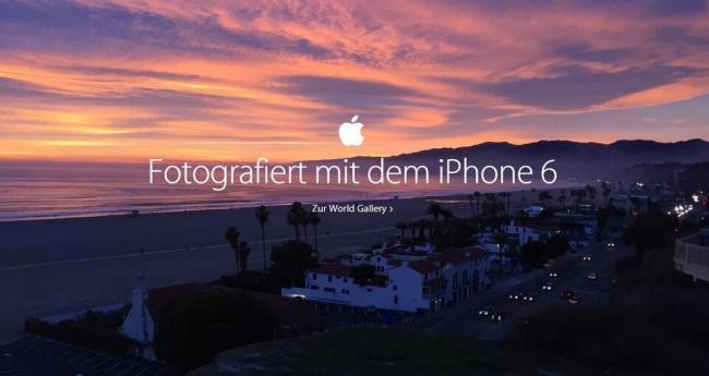 iPhone World Galerie Screen