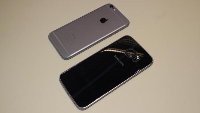 iphone 6 samsung galaxy s6 edge 2