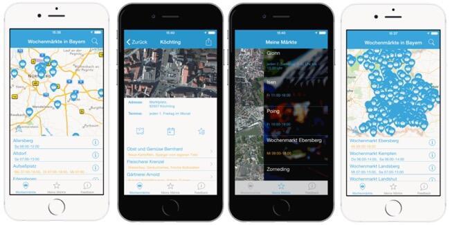 wochenmarkt app