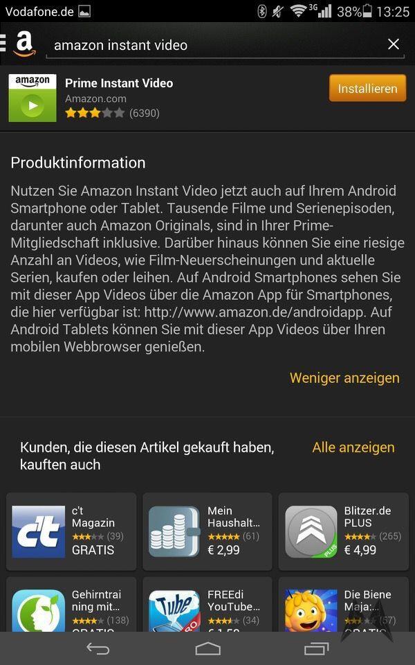Prime Instant Video Tablet
