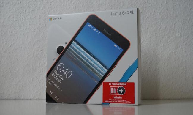 Microsoft Lumia 640 XL Header