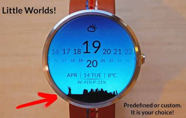 Moto 360 Little Worlds