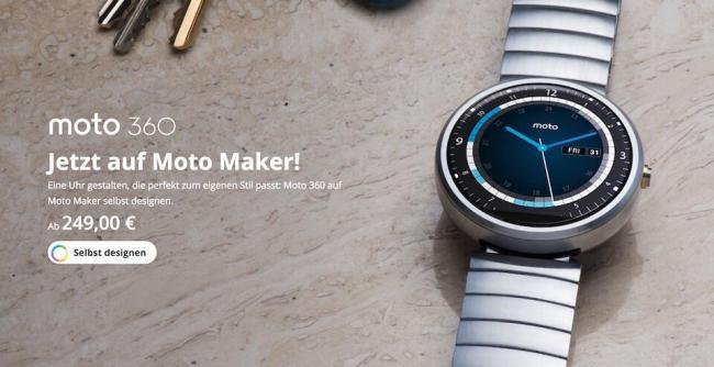 Moto Maker Moto 360