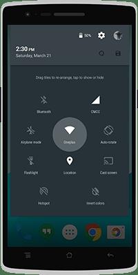 OnePlus One OxygenOS 03