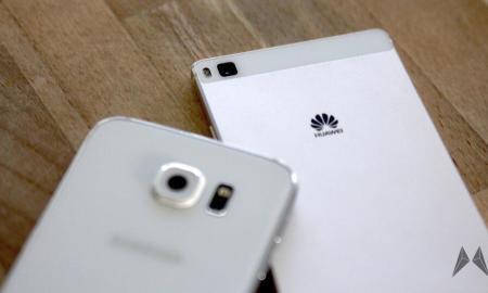 Samsung Galaxy S6 und Huawei P8 Kamera Vergleich