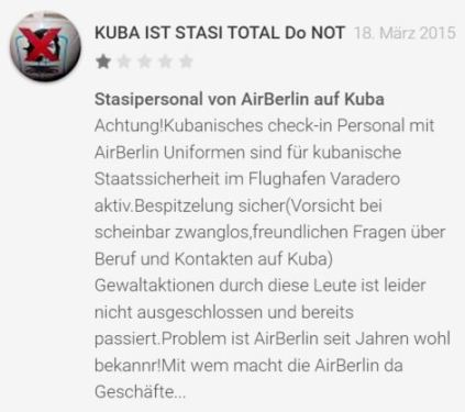 air berlin rezension