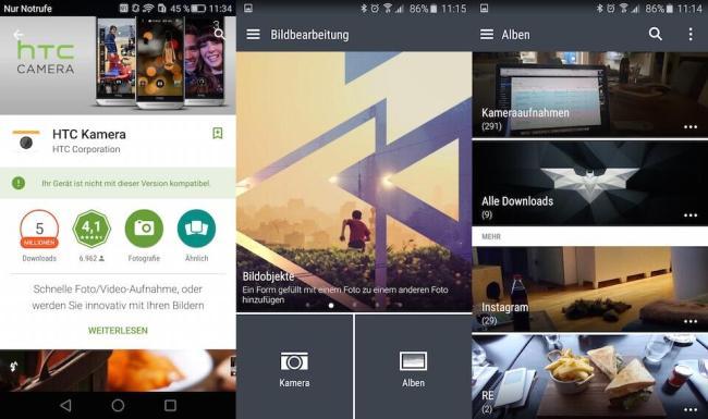 HTC Camera HTC Album