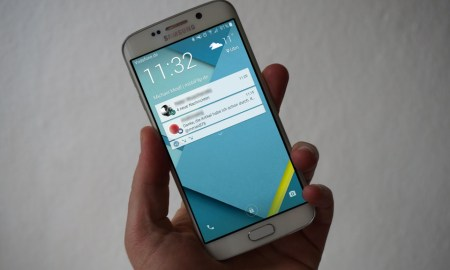 Samsung Galaxy S6 Lockscreen