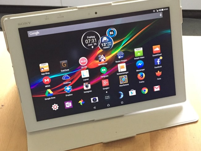 Sony Xperia Z4 Tablet LTE Test10