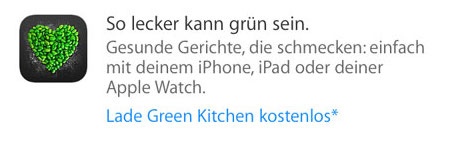 green apple kitchen