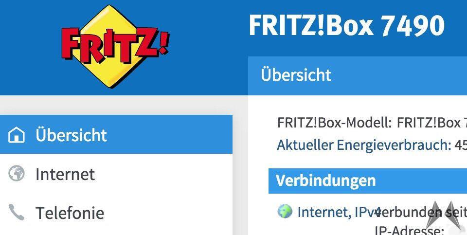 Fritzbox 7490 Labor Firmware
