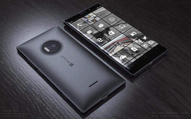 Lumia 940 Konzept 2