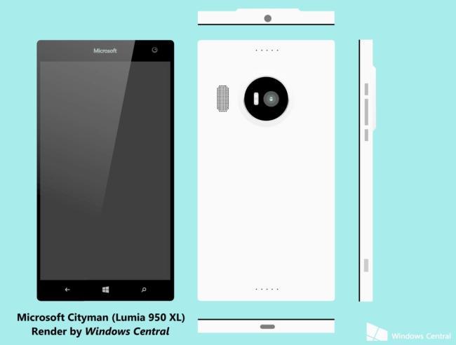 Microsoft Lumia 950 Mockup