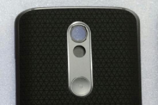 Moto X 2015 Rückseite Detailaufnahme