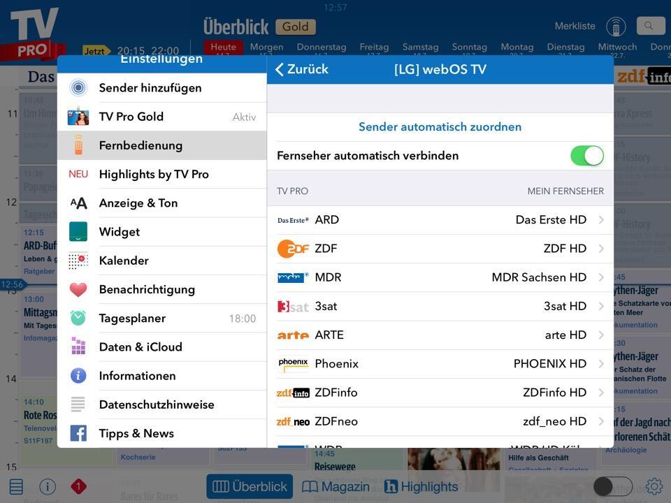 TV Pro iOS2