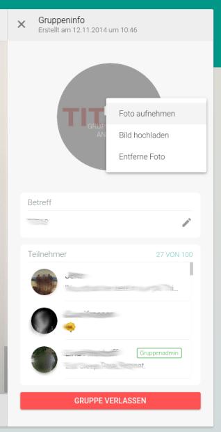Neue Funktionen bei den WhatsApp Web Gruppen