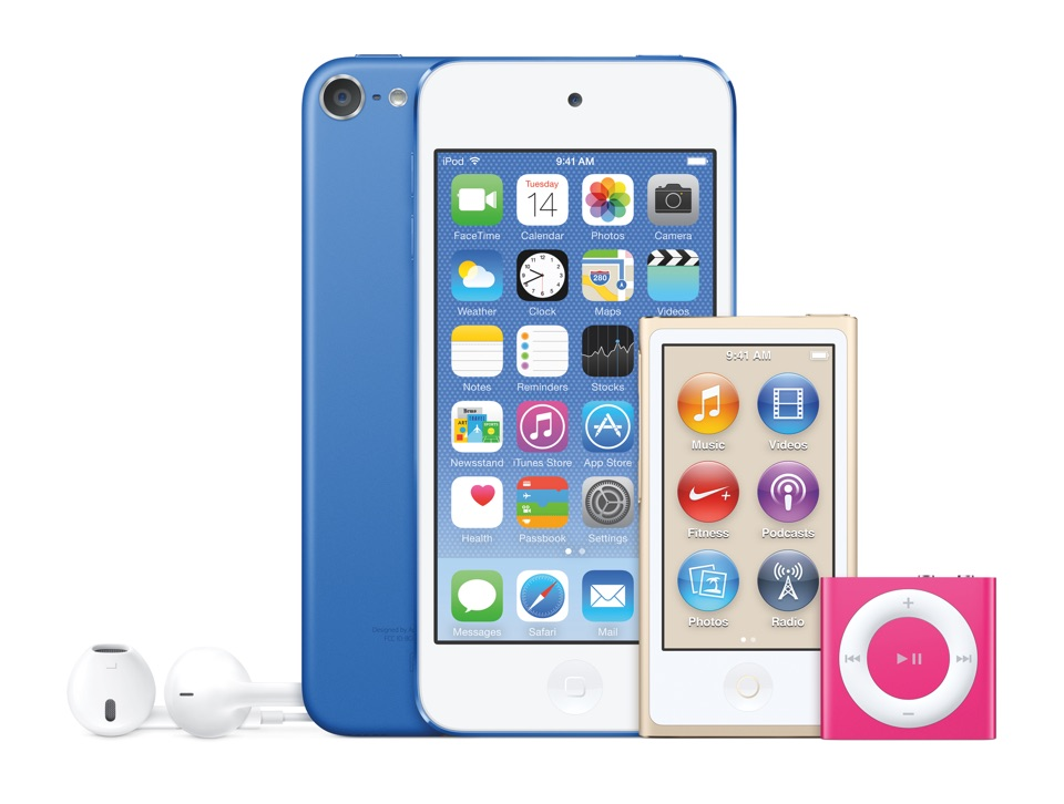 iPodFamily-NewColors