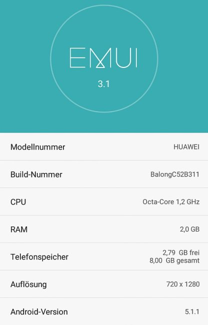 EMU 3.1 Honor 4X Lollipop