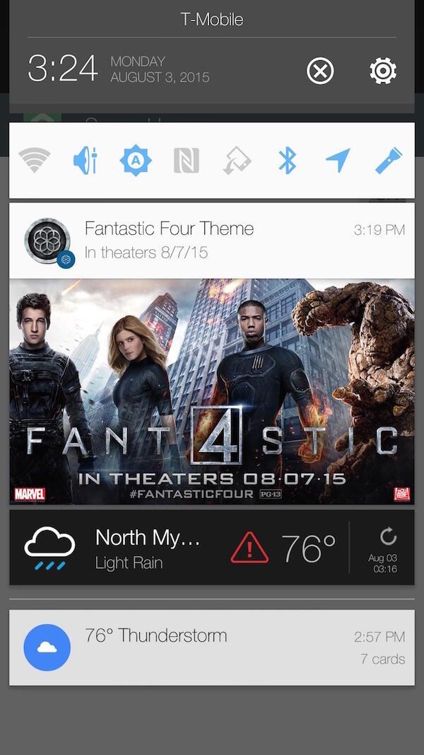 HTC Blinkfeed Werbung