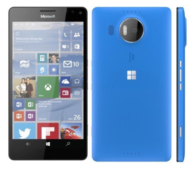Lumia 950 XL Render