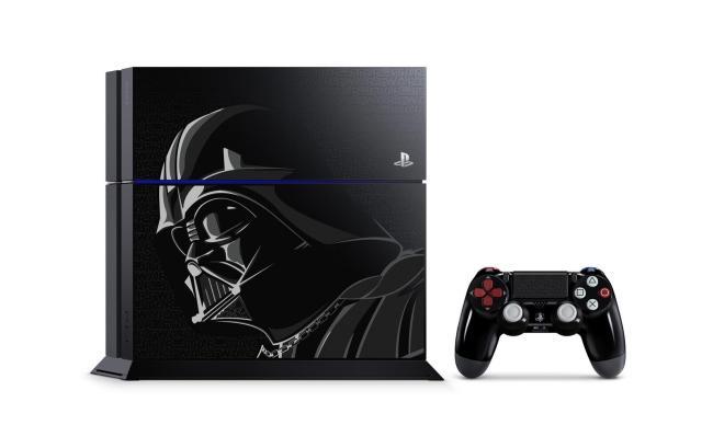 PS 4 Limitiert Darth Vader