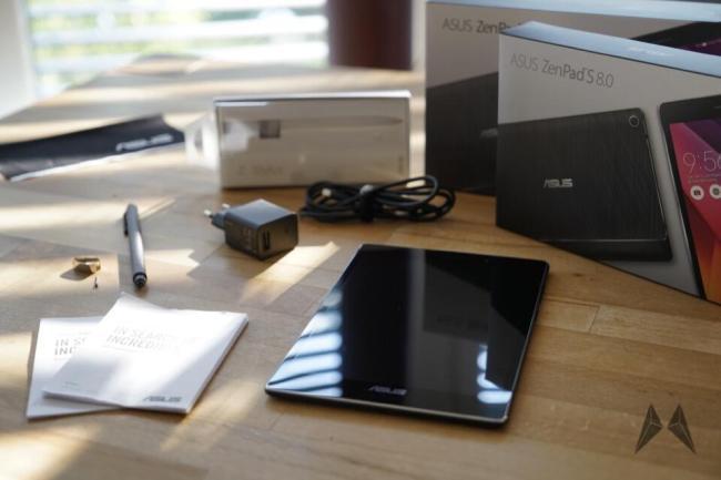 ASUS ZenPad 8S Lieferumfang _DSC1313