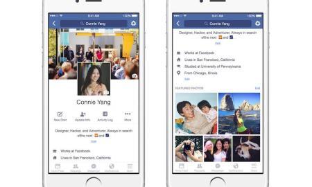 Facebook Profil Mobil