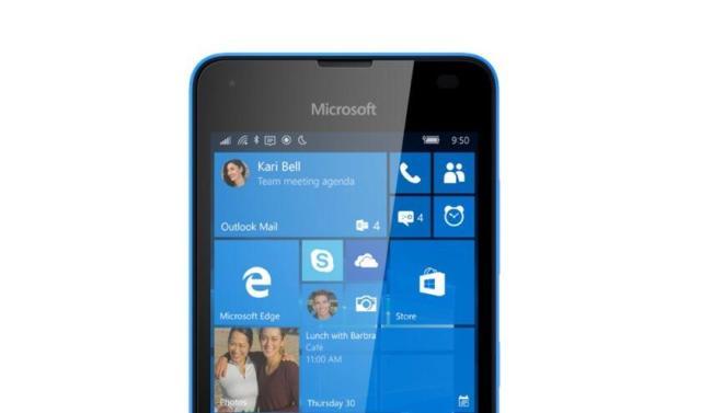 Lumia 550 Leak Header