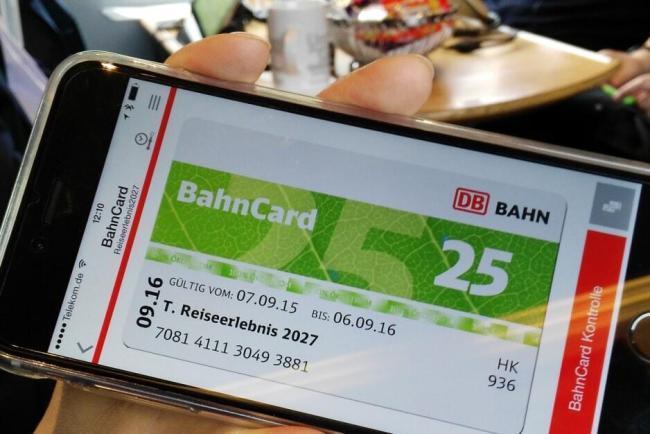 bahncard digital