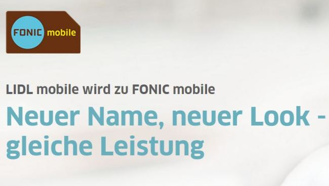 lidl fonic mobile