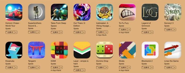 App store Spiele Liste