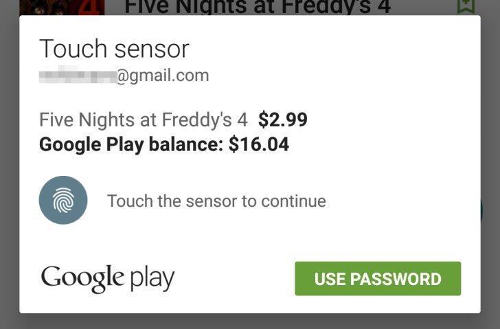 android 6 fingerabdruck